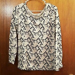 Long sleeve Pattern shirt size L/G